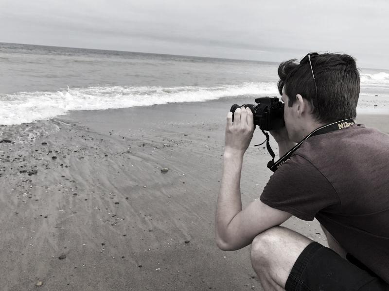 Sean by the sea