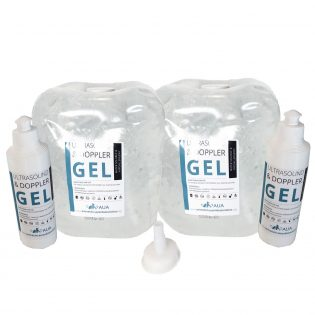 Veterinary ultrasound gel